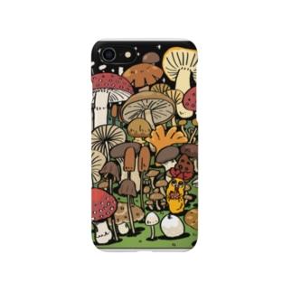 キノコの森 Smartphone cases