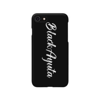 BlackAyuta ロゴ Smartphone cases