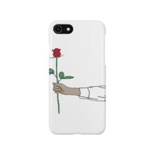 rose スマホカバー Smartphone cases