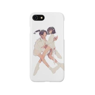 白い布を纏って Smartphone cases