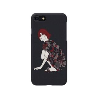 ジオメトリーガール Smartphone cases
