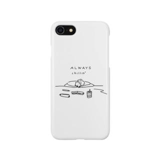チル ミックス Smartphone cases