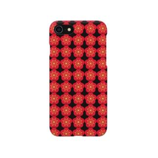 梅の花集合体 Smartphone Case