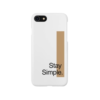 Stay Simple. Smartphone cases