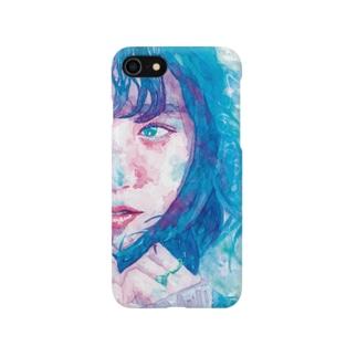 girl.1_watercolor Smartphone cases