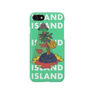 Island スマホケース Smartphone cases