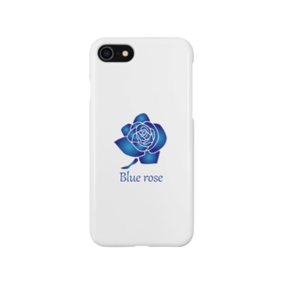 blue rose Smartphone cases