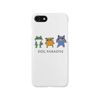 DOG PARADISE Smartphone cases