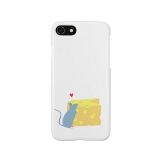チーズ大好き Smartphone cases