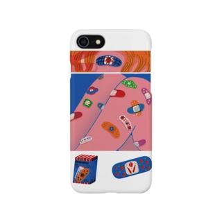 ペタペタ絆創膏 Smartphone cases