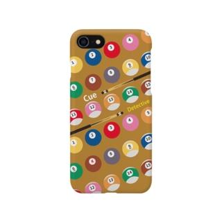 キュー探偵「K」スマホケース ver1キャメル Smartphone cases