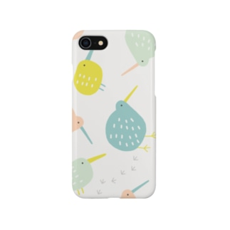全方位キーウィ (マルチカラー) Smartphone cases