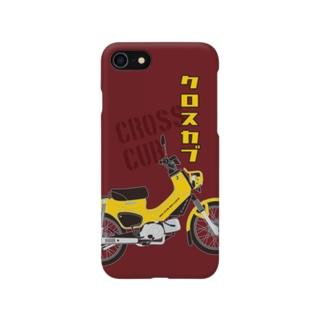 クロスカブ Yellow Smartphone cases