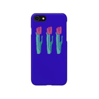 チューリップ❶_kikka Smartphone cases