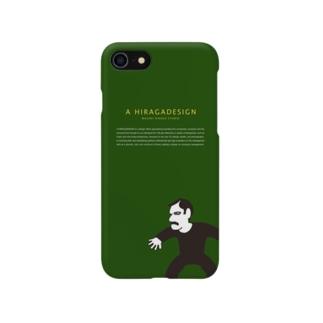 AHD_iphoneケース_GREEN Smartphone cases