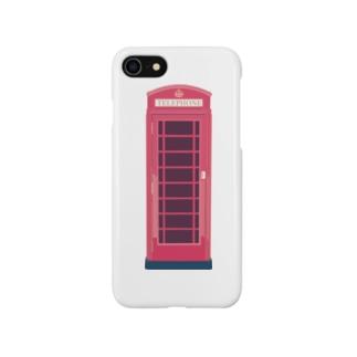 イギリスのテレフォンボックス Smartphone cases