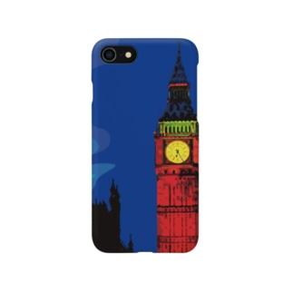 ロンドン ビッグベン エリザベスタワー Smartphone cases