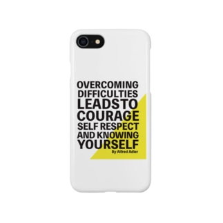 アドラー心理学 OVERCOMING Smartphone cases
