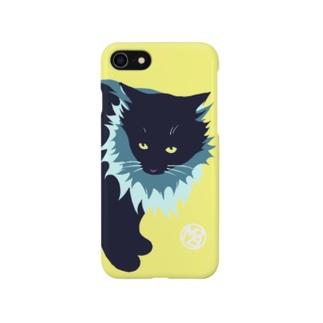 たてがみのある猫のiPhoneケース Smartphone cases