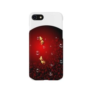 金魚紫陽花池 Smartphone cases