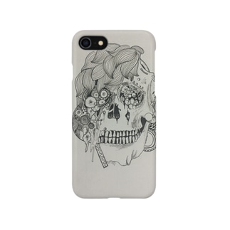 suicideのされこうべ Smartphone cases