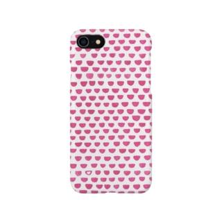 ピンクの鱗模様 Smartphone Case