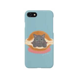 どら焼きにゃんこ Smartphone cases