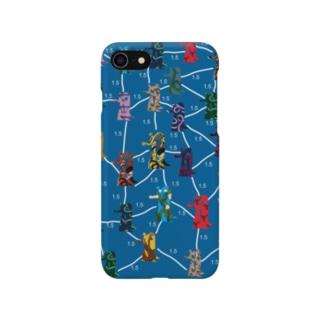 Social Distance D  〈iPhone全機種対応〉 Smartphone cases