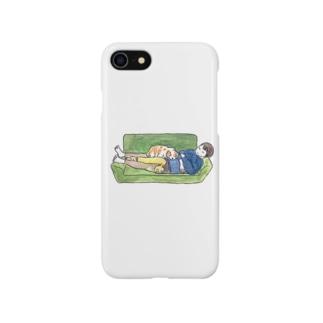 おやすみおかあさんといぬちゃん Smartphone cases