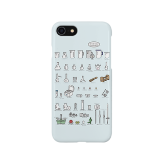うえたに夫婦の【iphone向け】ビーカーくんとそのなかまたちAスマートフォンケース