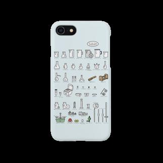 うえたに夫婦の【iphone向け】ビーカーくんとそのなかまたちA スマートフォンケース