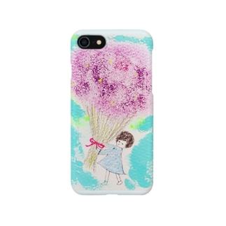 花束に愛を♡ Smartphone cases