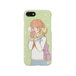 ぬくぬくガール Smartphone cases
