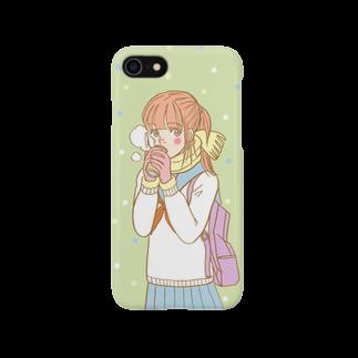 ATELIER JUNK SHOPのぬくぬくガール Smartphone cases