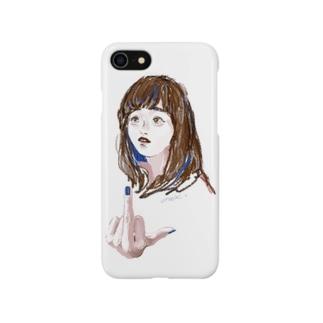 正直な女の子 Smartphone cases