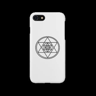 福の六芒星 ダビデの星 Smartphone cases