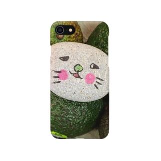 アボカドとイシイさん Smartphone cases