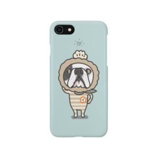 ブル号機100号イギー Smartphone cases