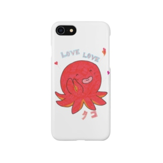 LOVELOVEタコ Smartphone cases