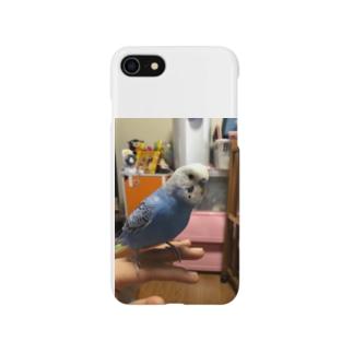 インコのトラ Smartphone cases