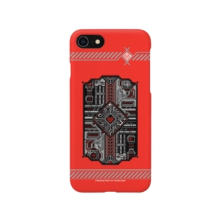 ExistedのドットCIRCUIT-001 HEART-AKA Smartphone cases