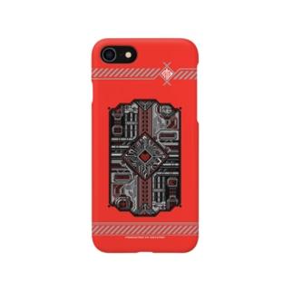 ドットCIRCUIT-001 HEART-AKA Smartphone cases