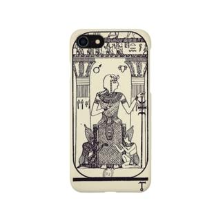 エジプトのタロット5:法王 絵小さめ Smartphone cases