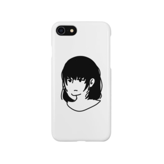ぼんやり女子 Smartphone cases