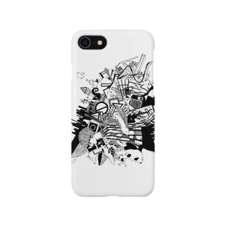 生き止まり Smartphone cases