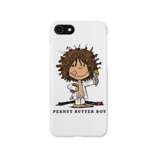 ピーナッツバターボーイ Smartphone cases