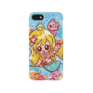 ごきげんマーメイド Smartphone cases