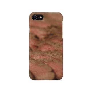 ローストビーフ Smartphone cases