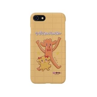 ナガイさんとマルイさんのスマホケース(クッキー) Smartphone cases
