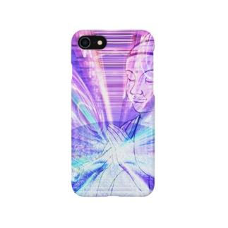 ブッダ 祈り サイバー Smartphone cases